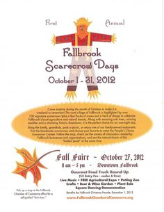 Welburn Gourd Farm will be there! October 27th, 2012 - Downtown Fallbrook, CA