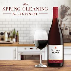 Spring cleaning is a breeze with these 6 simple steps. Tip: A glass of your favorite Sutter Home wine makes it even more enjoyable!