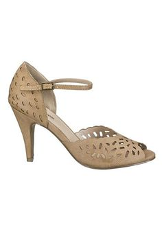 sand maddy perforated peep toe pump (original price, $34) available at #Maurices