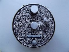 An engraved fly reel - you don't see them very often.