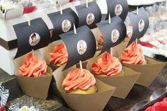 Barco pirata cupcake!!