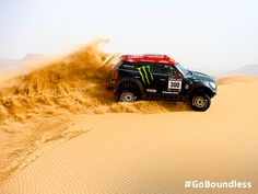 Dune hopping heroics at Dakar.