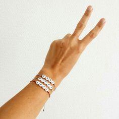 Bracelet personnalisable #elodietrucparis www.elodietrucparis.tictail.com