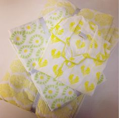 Bright and soft baby goods are available exclusively at our shop at @alothmanfashion. #ecru #ecruonline #baby #gift #pajama #malmal #cotton #yellow #blockprint