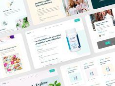 Web Platform for Medicine - web pages by sadbin walid Page Design, Web Design, Web Platform, Medicine, Design Web, Medical, Website Designs, Site Design