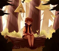 Explore the Gravity Falls collection - the favourite images chosen by ArcAngelCrystal on DeviantArt. Dipper Pines, Dipper Y Mabel, Mabel Pines, Gravity Falls Bill Cipher, Gravity Falls Art, Blue Exorcist, Cowboy Bebop, Billdip Comic, Mother Memory