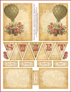 Pennant printables....other pages