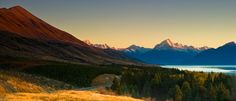 Mt Cook, New Zealand  by Jim Kil.  I'd love to go to New Zealand.