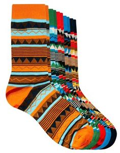 Jack & Jones Peluk 5 Pack Socks. Awesome socks for under that boring work suit. brighten up your day!