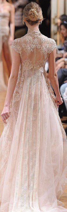 Lace, lace, and more lace! Zuhair Murad, fall 2013