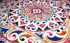 Best Fine Art Institute in Delhi Bengali New Year, Alpona Design, Rangoli Colours, Indian Folk Art, Doodle Patterns, Rangoli Designs, Mandala Art, Asian Art, Embroidery Patterns