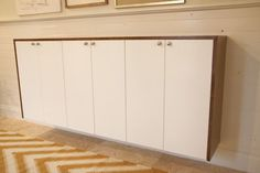 Credenza Madia Ikea : Custom bar from ikea kitchen cabinets dining room