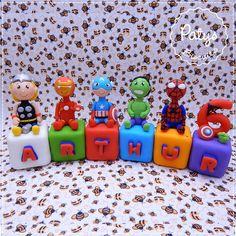 Cubos Personalizados Super Heróis