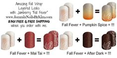 Fabulous Fall layered looks with Jamberry!