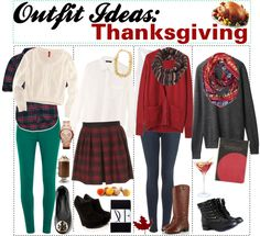 """""""Outfit Ideas for Thanksgiving!"""" by tipstruly ❤ liked on Polyvore"""