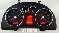 Audi TT instrument cluster bench test after repair Audi Tt Mk1, Audi A2, Audi Tt Roadster, Tt Tuning, A3 8p, Black Audi, Porsche Boxster, Activity Monitor, Bench
