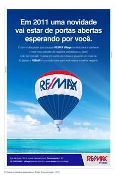 Re/Max - Anúncio