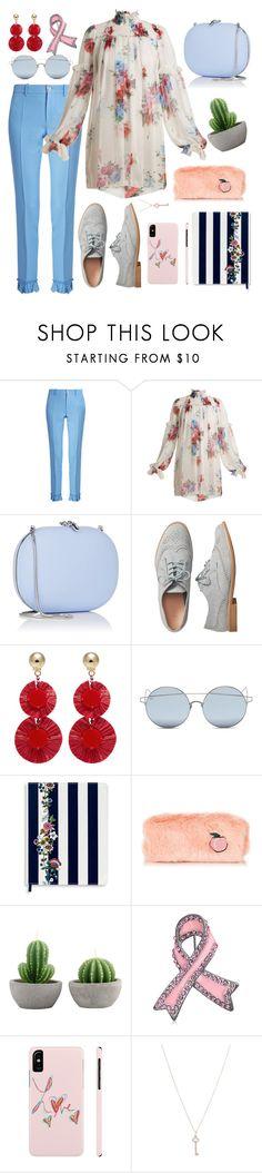 """Untitled #709"" by hebaamir ❤ liked on Polyvore featuring Gucci, Dolce&Gabbana, Jeffrey Levinson, Gap, Oscar de la Renta, For Art's Sake, Vera Bradley, Bling Jewelry and Tiffany & Co."