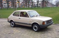 Fiat 127. Good enough to take us all on holiday to Swanage but not much more
