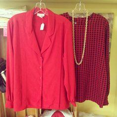 80's blouses
