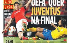 "ACCUSE DAL BENFICA ""L'UEFA VUOLE LA JUVE IN FINALE"" #europa #league #juventus #benfica #uefa"