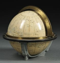 Celestial Globe, Ernst Schottr & Co., Germany, late 19th/early 20th century