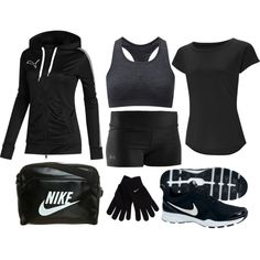 """Girls' Track and Field Uniform"" by eappah on Polyvore"