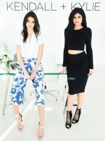 Your First Look At Kendall + Kylie's Debut Collection #refinery29  http://www.refinery29.com/2016/01/102127/kendall-kylie-collection-pictures#slide-13  Kendall + Kylie Collection Crop Top, $88, and Maxi Wrap Skirt, $168, available in February 2016....