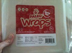 Paleo Wraps. (Taken on iPhone).