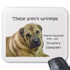These Aren't Wrinkles... They're Character Lines Mousepads