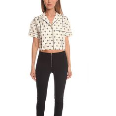 Rag & Bone Winifred Shirt (2.105.350 IDR) ❤ liked on Polyvore featuring tops, women, cut-out crop tops, rag bone shirt, shirt crop top, boxy tops and shirt top