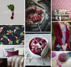 Mood Board Monday: Beets (http://blog.hgtv.com/design/2014/09/22/mood-board-monday-beets/?soc=pinterest)
