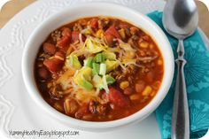 Yummy - Healthy - Easy: {Skinny} Crock Pot Taco Stew