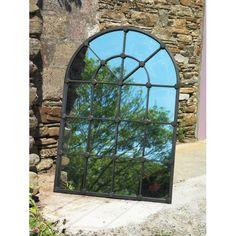 Metal Window Mirror