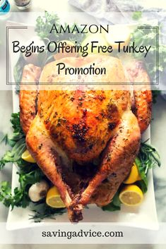 Amazon Begins Offering Free Turkey Promotion Cold Hard Cash, Living Below Your Means, Groceries Budget, Budgeting Tips, Debt Free, Frugal, Saving Money, Promotion, Turkey