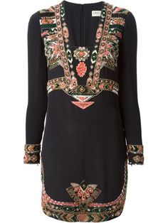 Shop Emilio Pucci ethnic embroidered dress in Super from the world's best independent boutiques at farfetch.com. Over 1000 designers from 60 boutiques in one website.