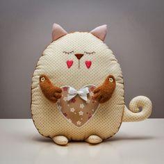 Повтор популярной кошечки-сплюшки :: Красивые Игрушки Затинацкой Натальи