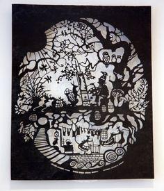 Amazeballs papercut...stunning by PaperCutDirect on Etsy