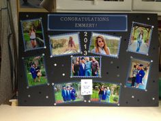 High School Graduation Party Ideas | High School Graduation Picture Board