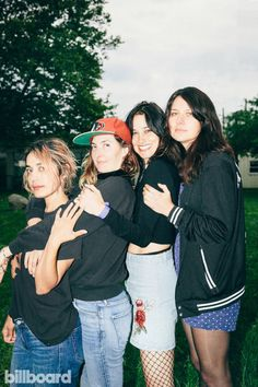 Governors Ball 2017 | Backstage Portraits. Warpaint @ Randall's Island Park in New York. Photo by Tawni Bannister.