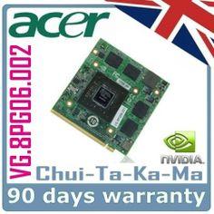 nVidia VG.8PG06.002 Acer Aspire 5920G 6920G 7720G 8920G Laptop Graphics Repair
