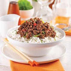 Bœuf à la coréenne - Soupers de semaine - Recettes 5-15 - Recettes express 5/15 - Pratico Pratique