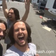 Seb and his stunt doubles' dubsmash. Omg! Click the link!!!