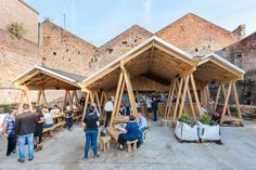 Built by H. Miller Bro in Liverpool, United Kingdom Constellations Bar is an outdoor venue which includes a bar, food truck, art space and community garden. Located in L...