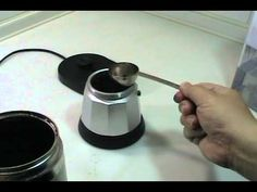 How to use the DeLonghi MKE6 automatic Espresso pot maker