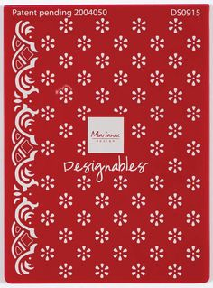 Flowers Cutting & Embossing Folder by Ecstasy Crafts (4005693)