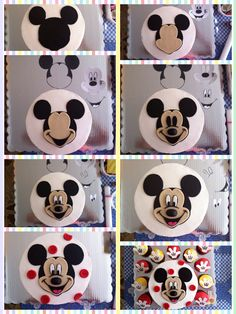 Image result for mickey mouse face fondant