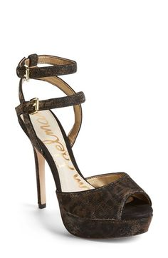 Sam Edelman'Nadine' Platform Sandal (Women) available at #Nordstrom