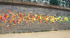 Origami Street Art – Mademoiselle Maurice pour ARTAQ   Ufunk.net