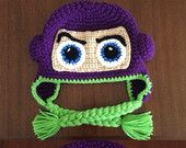 Buzz Lightyear inspired crochet hat face or suit
